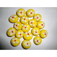 Yellow FANCY Beads
