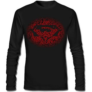 Balakrishnan garments Graphic Print Mens Round Neck T-Shirt black in color