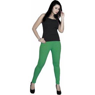 Gargi Leggings Cotton 24s Single Jersey R Green (OGLG 060)