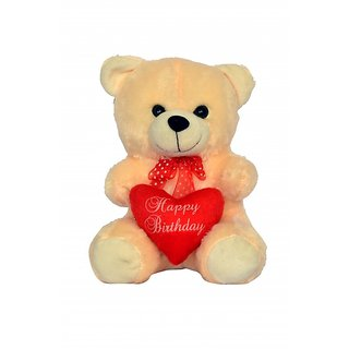 Teddy with heart soft toys for kids