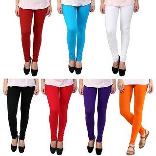 Legemat Multi Color Legging Combo Of 7