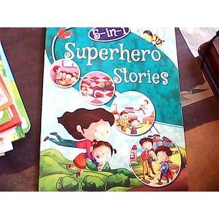 5 IN 1 SUPERHERO STORIES