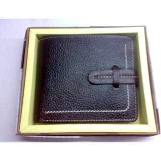 100 Original Leather Gents Wallet new Style Money Purse Men's Wallet BR317