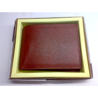 Genuine Natural Leather Gents Wallet TN316