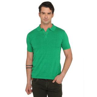 Donear NXG Green Colour Solid T-Shirt