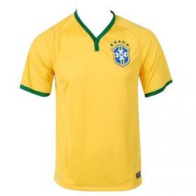 Brazil Yellow Football jersey