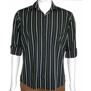 Semi Formal Regular Fit Shirts With Stripes
