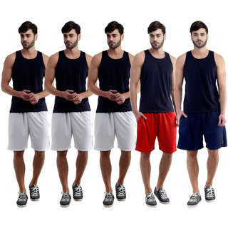 Dee Mannequin Communicative Sports Shorts For Men