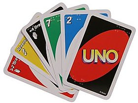 UNO card game from IDEALS