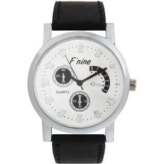 Fnine mens watches silver dial SP003AD-25