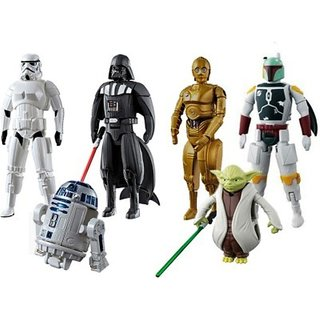 Egg Force Star Wars Super Hero Action Figure Set For Kids