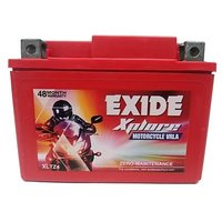 Hero Motors Bike Exide Sealed Battery Xltz4 - No Maintenance