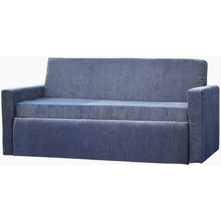 Sofa Bed - 3 Seater, Converts to Queen Size Bed (6 Ft x 5 Ft Mattress Area)