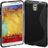 Rka S Line Tpu Gel Silicone Rubber Soft Case Cover Samsung Galaxy Note 3 N9000 Black