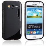 Rka S Line Tpu Gel Silicone Rubber Soft Case For Samsung Galaxy Grand I9082 Black