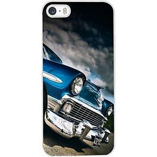 Casotec Vintage Car Pattern Design Hard Back Case Cover For Apple Iphone 4 / 4S Gz7009C-12274