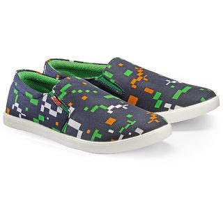 Juandavid MenS Green Slip On Sneakers Shoes (149 Green)