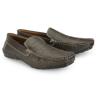 Juandavid MenS Brown Slip On Sneakers Shoes (F-55 Brown)