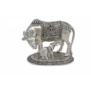 Gifts Vale Cow Showpiece ( H 6.75 L 8 Inch )