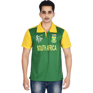 South Africa Cricket Jersey Half Sleeves T Shirt
