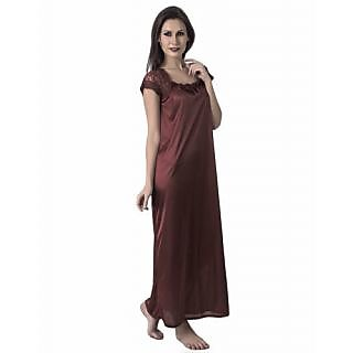 d2f26fc27c Buy @rk hot sexy 1 pc satin bridal nighty ,gown ,night dress,night ...