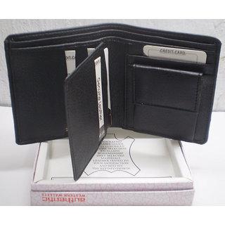 Black PU Wallet For Men