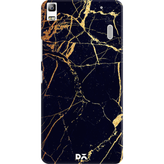 DailyObjects Black  Lava Marble Case For Lenovo K3 Note