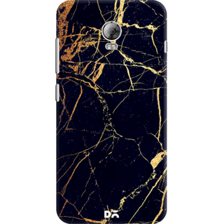 DailyObjects Black  Lava Marble Case For Lenovo Vibe P1