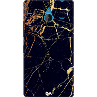 DailyObjects Black  Lava Marble Case For Microsoft Lumia 640 XL