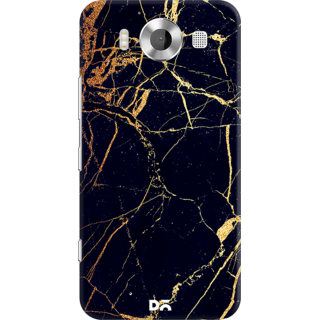DailyObjects Black  Lava Marble Case For Microsoft Lumia 950
