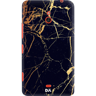 DailyObjects Black  Lava Marble Case For Nokia Lumia 1320