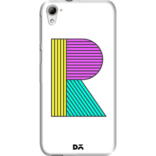 DailyObjects Stylised R Case For HTC Desire 826