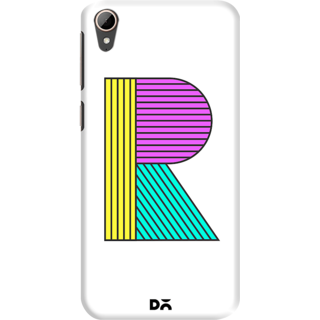 DailyObjects Stylised R Case For HTC Desire 828