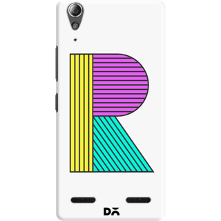 DailyObjects Stylised R Case For Lenovo A6000