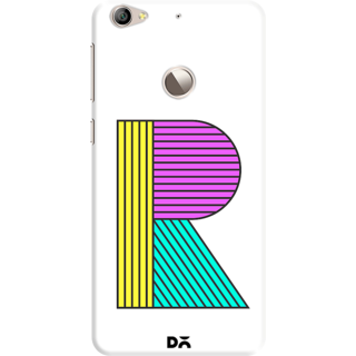 DailyObjects Stylised R Case For Letv Le 1S