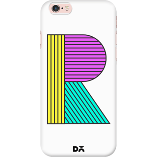 DailyObjects Stylised R Case For iPhone 6S