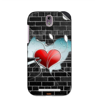 Instyler Mobile Skin Sticker For Htc Desire 500 MshtcDesire 500Ds-10108