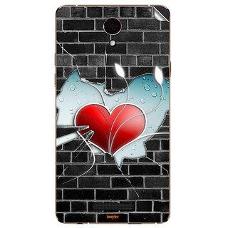 Instyler Mobile Skin Sticker For Oppo R1001 MsoppoR1001Ds-10108