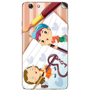 Instyler Mobile Skin Sticker For Oppo R1 MsoppoR1Ds-10129