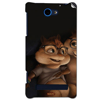 Instyler Mobile Skin Sticker For Htc 8X Mshtc8XDs-10053