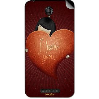 Instyler Mobile Skin Sticker For Oppo R833T MsoppoR833TDs-10127