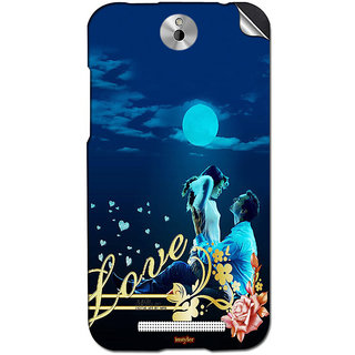 Instyler Mobile Skin Sticker For Htc Desire 501 MshtcDesire 501Ds-10110