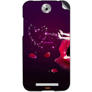 Instyler Mobile Skin Sticker For Htc Desire 501 MshtcDesire 501Ds-10114