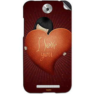 Instyler Mobile Skin Sticker For Htc Desire 501 MshtcDesire 501Ds-10127