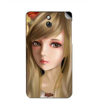 Instyler Mobile Skin Sticker For Htc Desire 610 MshtcDesire610Ds-10068