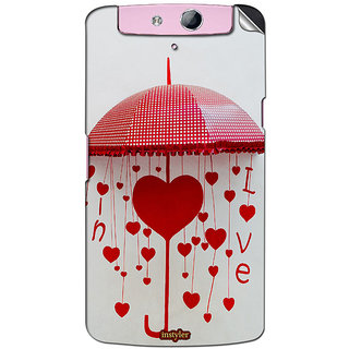 Instyler Mobile Skin Sticker For Oppo N1 Mini MsoppoN1MiniDs-10124