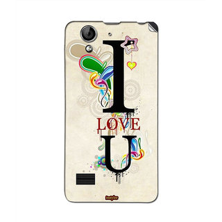 Instyler Mobile Skin Sticker For Oppo R819 MsoppoR819Ds-10122