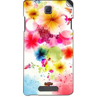 Instyler Mobile Skin Sticker For Oppo R831K Neo3 MsoppoR831Kneo3Ds-10076