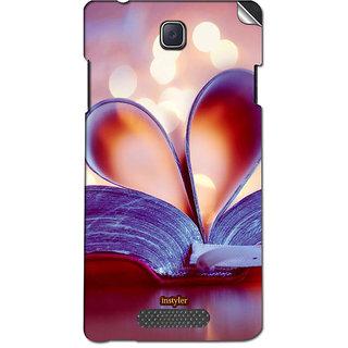 Instyler Mobile Skin Sticker For Oppo R831K Neo3 MsoppoR831Kneo3Ds-10123