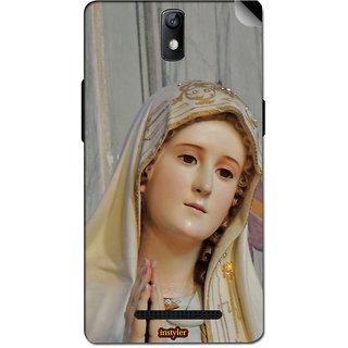 Instyler Mobile Skin Sticker For Oppo R7005 MsoppoR7005Ds-10083